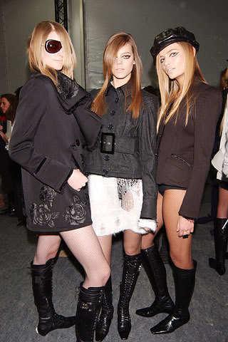 Freja-Brenna Rose, Freja Beha, and Natasha Poly