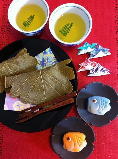 Honey's Kitchen-端午の節句のお茶