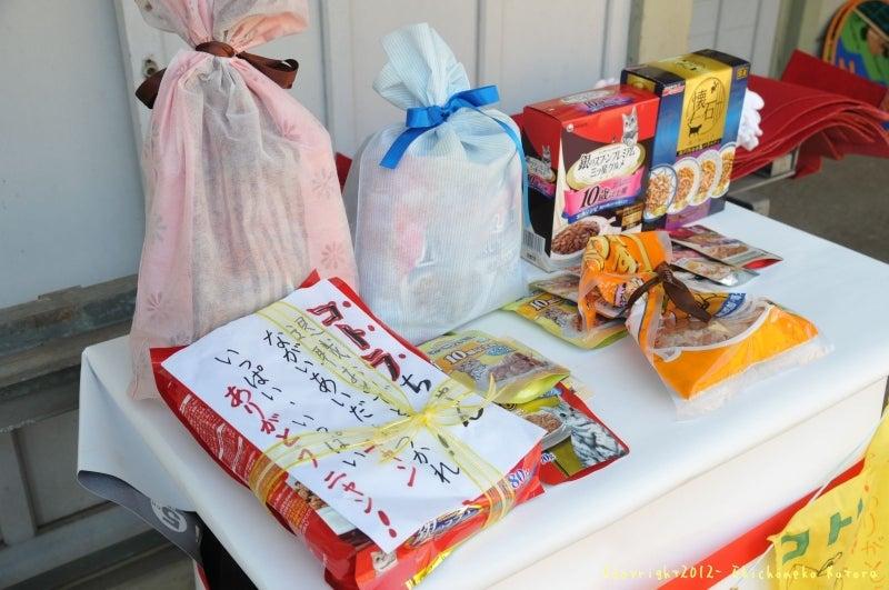 駅長猫コトラの独り言~旧 片上鉄道 吉ヶ原駅勤務~-たくさんもらったお祝いや