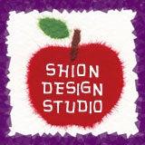 和紙はり絵カード作家 izumi tsubomatsu-shion-apple-001
