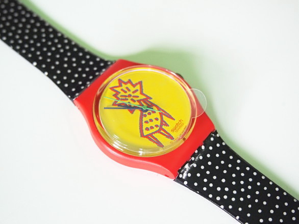PARANOIA TRAINの日々-Swatch STANDARD DOTCHAIR