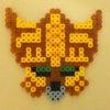 《アイロンビーズ》黒獅子リオ・メレ/大剣人ズバーンの画像
