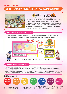 COCONET東日本応援プロジェクトのブログ