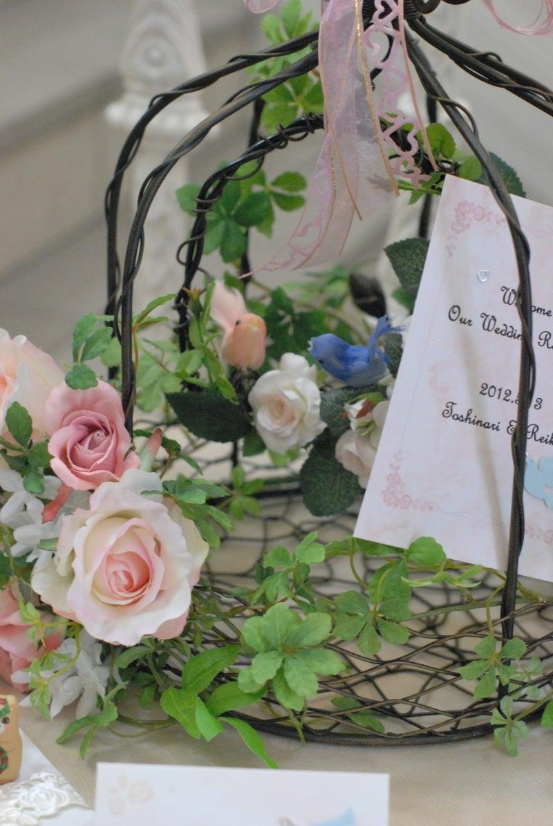 Cinq flora サンクフローラのブログ☆花と暮らす悦びをあなたにも-鳥かご4