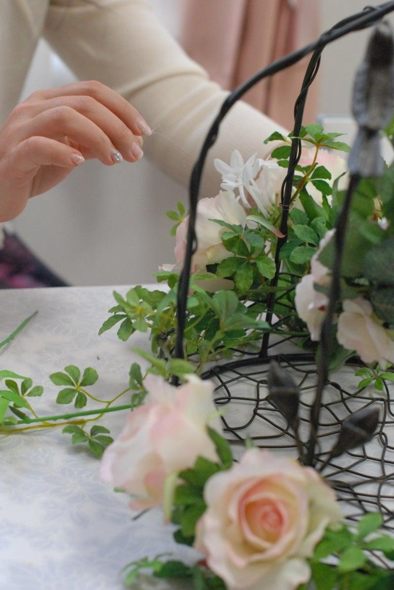 Cinq flora サンクフローラのブログ☆花と暮らす悦びをあなたにも-鳥かご2