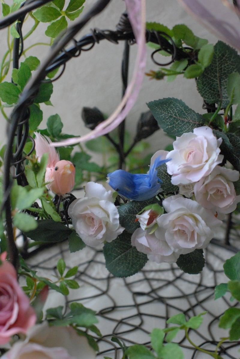 Cinq flora サンクフローラのブログ☆花と暮らす悦びをあなたにも-鳥かご3
