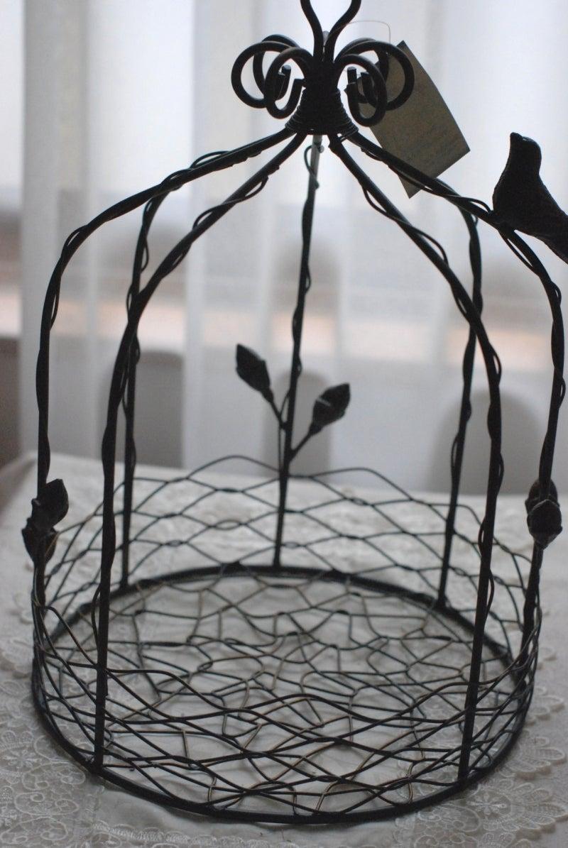 Cinq flora サンクフローラのブログ☆花と暮らす悦びをあなたにも-鳥かご