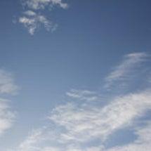 今朝の雲(2012年…