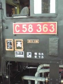 ぽけあに鉄道宣伝部日誌(仮)-C58-363 side