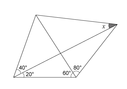 中学 中学 数学 図形 : 算数で解けるラングレーの問題 ...