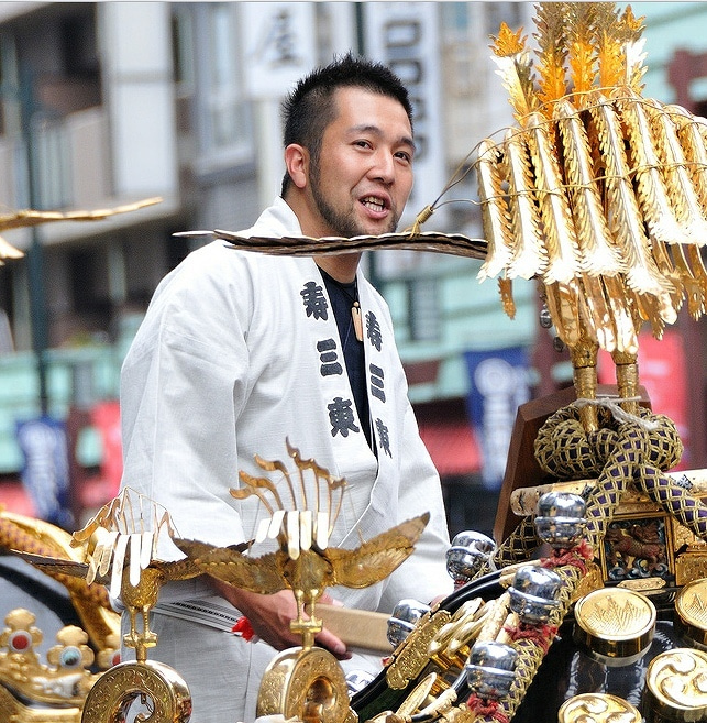 三社祭2012年(宵祭り)