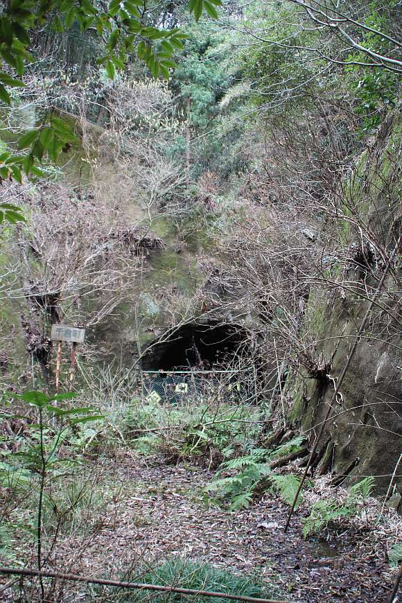 道にあるちょっと古いもの-大貫隧道