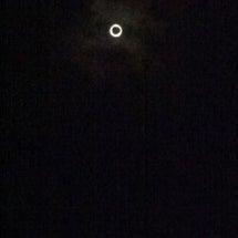 見た見たー!金環日食…