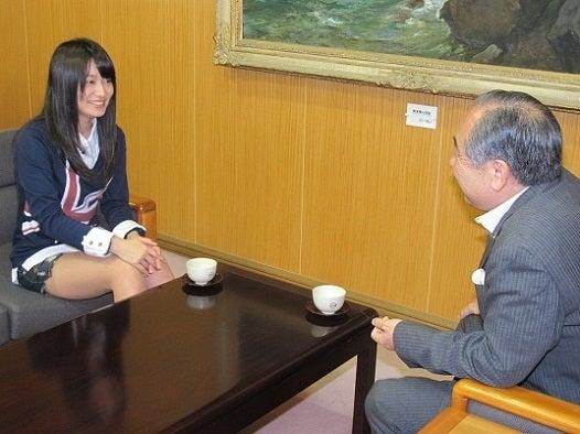 後藤郁さん、市長を表敬訪問 | ...