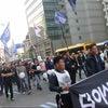 22人の遺影と棺桶を先頭にした巨大デモに出会ってしまった、5月19日ソウルにての画像