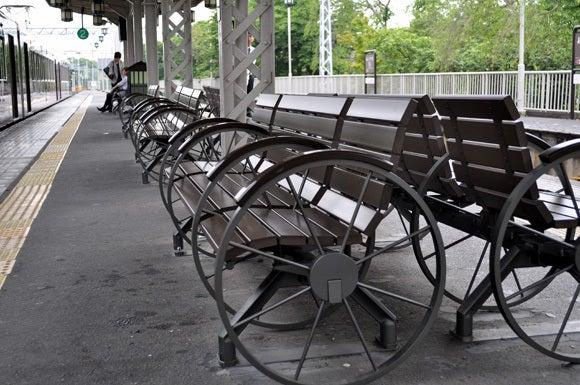 茶々吉とデジ一 のんびり旅-120525_嵐山駅