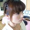 ★サイド編みヘアメイク★の画像