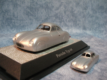 $1959PORSCHE356Aのブログ-ポルシェ64ミニカー2種(2)斜め前向き