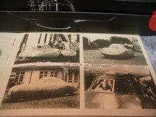 $1959PORSCHE356Aのブログ-ポルシェ64完成時写真4枚組リアアングル入り