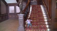 $ある教会の牧師室-階段