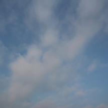 5月29日朝の雲