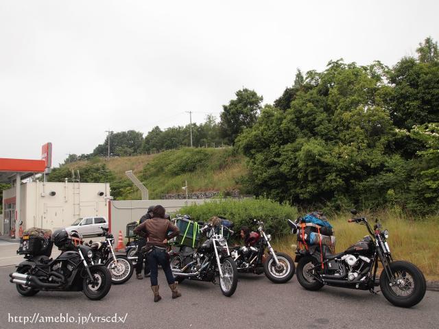 鐵馬ハーレー旅写真-01 Dice奈良キャンプツー
