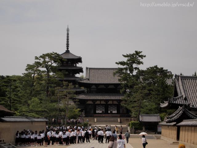 鐵馬ハーレー旅写真-12 法隆寺