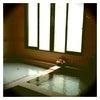 女性風呂の窓の外への画像