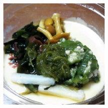 ネバネバとろーり豆腐