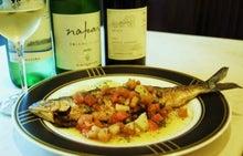 食べて飲んで観て読んだコト+レストラン・カザマ-ヒメマスのムニエル