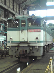 ぽけあに鉄道宣伝部日誌(仮)-EF65-1074