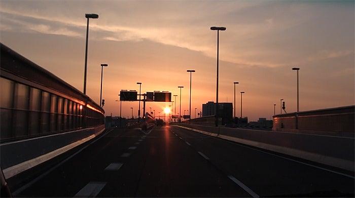ののちゃんブログ-神戸の高速道路にて