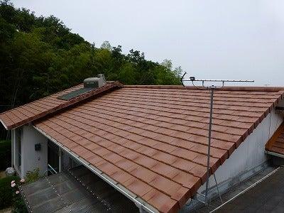 ROOGA 鉄平 オレンジ色 施工事例の記事より