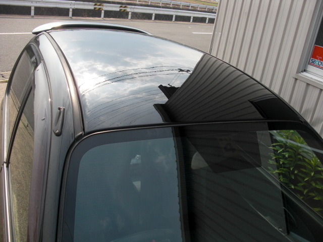 京都の女職人が書く車のブログ☆★-屋根 塗装
