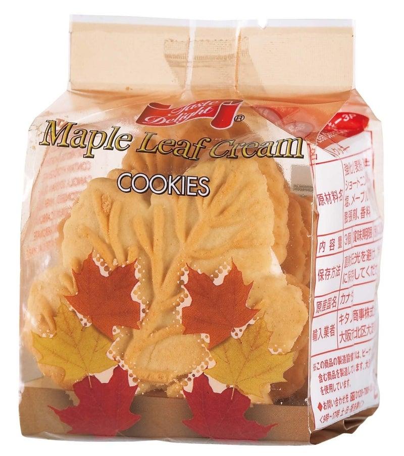 メープル クリーム クッキー