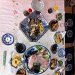 民宿の料理