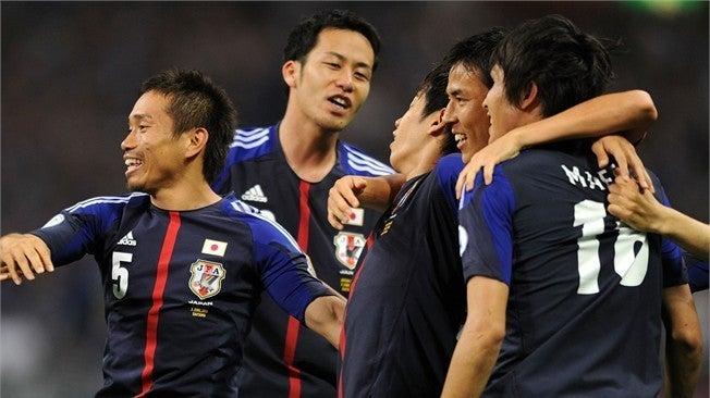 ブックメーカー サッカー 日本代表