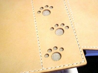 OXIO-CRAFT(オキクラ)の「革雑貨」製作日記-ペアの一筆箋カバー