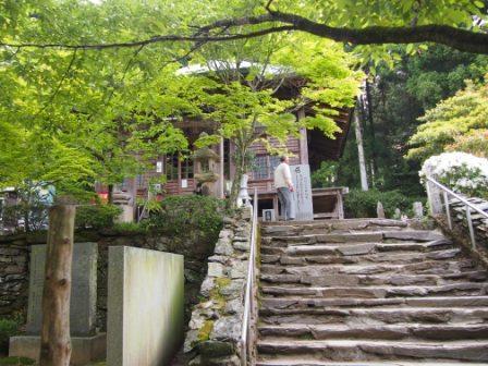 秋田犬カイの日常-三角寺4