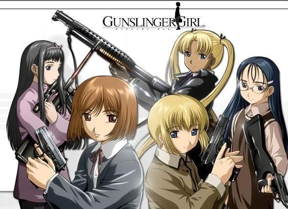 gunslinger girl 漫画 無料