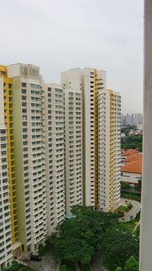 シンガポールの部屋から2