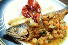 食べて飲んで観て読んだコト+レストラン・カザマ-チップのムニエル