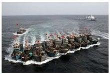 $日本人の進路-中国漁船02