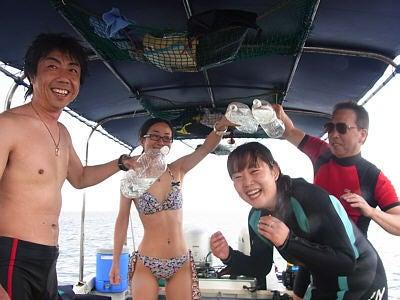 海冒主うみぼうずのブログ:byまのっち-水かけ
