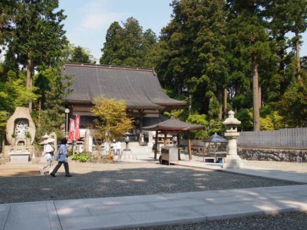 秋田犬カイの日常-雲辺寺7