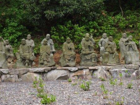 秋田犬カイの日常-雲辺寺13