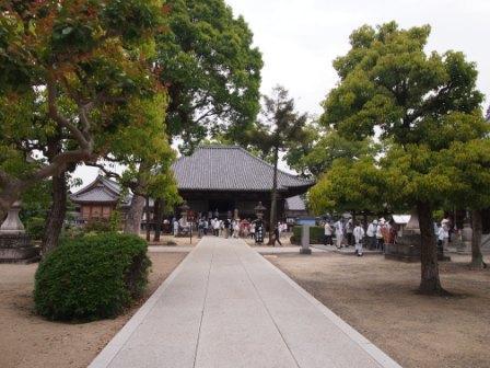 秋田犬カイの日常-本山寺1