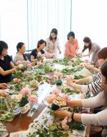 fleurs de lumiére~花と光のテーブルコーディネート