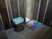 楽園管理人アツシの絵日記-薪焚体験風呂 内装06