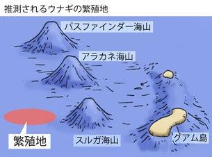 川崎悟司 オフィシャルブログ 古世界の住人 Powered by Ameba-ウナギの繁殖地
